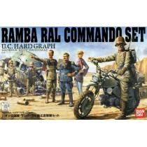 U.C. Hard Graph HG Ramba Ral Commando Set 1/35