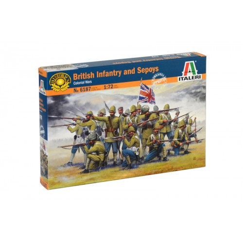 British Infantry and Sepoys (Colonial wars) 1/72