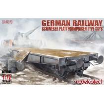 Schwerer Plattformwagen Type SSyms 80
