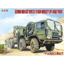 German MAN KAT1M1013 8*8 HIGH-Mobility off-road truck  1/72
