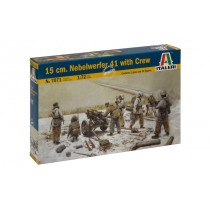15 cm. Nebelwerfer 41 with Crew 1/72