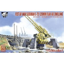 Fist of War German WWII E75 flak 40 ZWILLING panzer 1/72