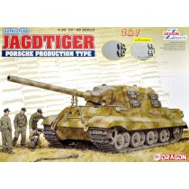 Sd.Kfz.186 JagdTiger Porsche Turret Production 2 in 1 with zimmerit  1/35