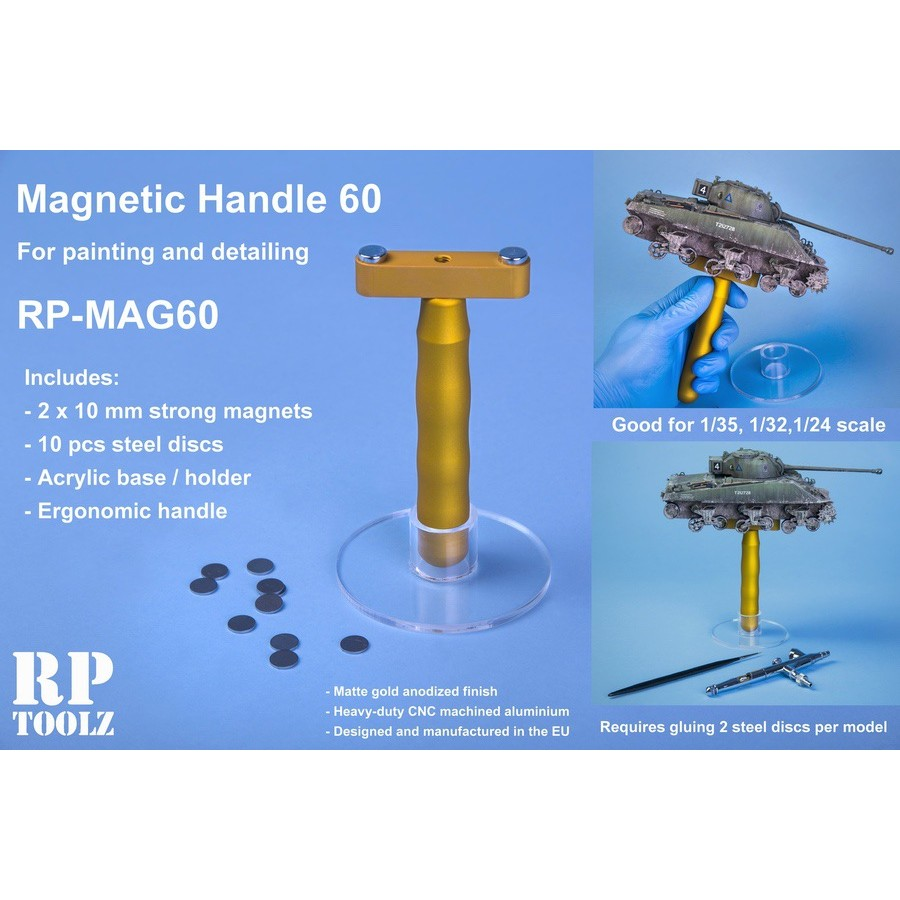 Mag60 , Magnetic Handle With Acrylic Basement