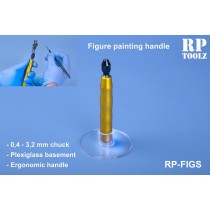 Figure paiting handle with acrylic basement