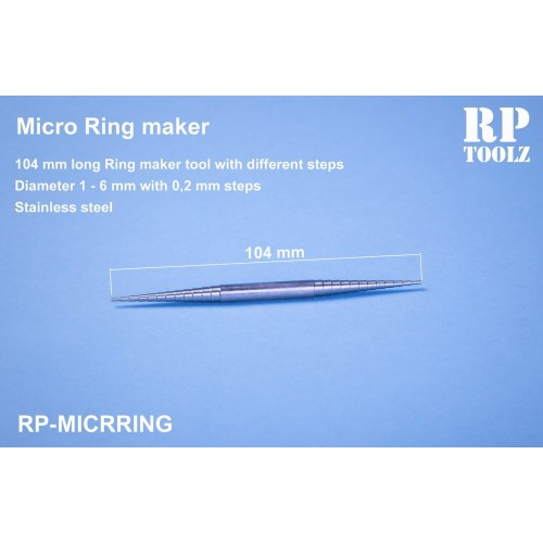 Micro conical roller
