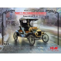 Model T 1912 Commercial Roadster, American Car  1/24