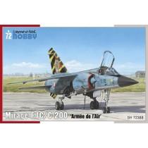 Dassault Mirage F.1C/C-200 1/72