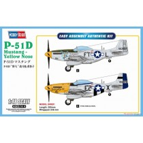 North-American P-51D Mustang Yellow Nose 1/48