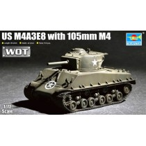 M4A3E8 Sherman 105mm M4 1/72
