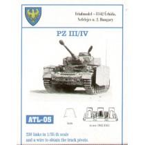 210 Links for 40/40cm width Pz.Kpfw.III Ausf.H/J. Pz.Kpfw.IV Ausf.Sturmgeschutz/StuG III B/D