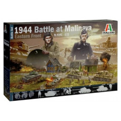 1944 Battle of Malinava Diorama. 1/72