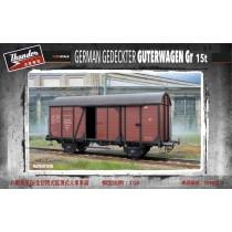 German Gedeckter Güterwagen Gr 15t 1/35