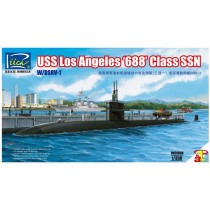 USS Los Angeles 688 Class SSN w/DSRV-1 (3 in 1) 1/350