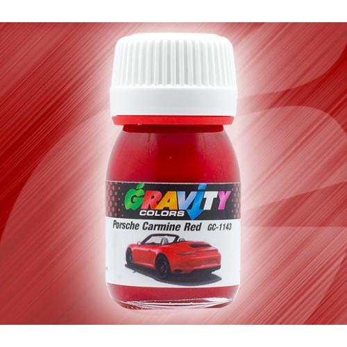 Porsche Carmine Red