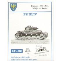 210 links for 36/36cm width Pz.Kpfw.III Ausf.A/B/C/D/E/F/G Pz.Kpfw.IV Ausf.A/B/C/D/E Sturmgeschutz/StuG