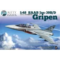 Saab JAS-39B/D Gripen  1/48