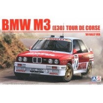 BMW M3 E30 `89 Tour de Corse Rally 1/24