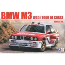 BMW M3 E30 `89 Tour de Corse Rally 1/24