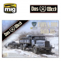 FAUN L 900 plus Sd.Ah.115 10t low bed trailer bundle 1/35