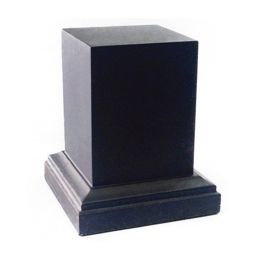 PEANA Pedestal 65mm Cuad. 4x4 Ebano-Ebano