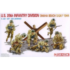 U.S. 29th Infantry Division Omaha Beach D-Day 1944 1/35