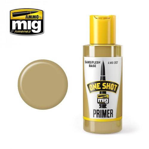 ONE SHOT PRIMER - CARNE ARENA 60 ml.