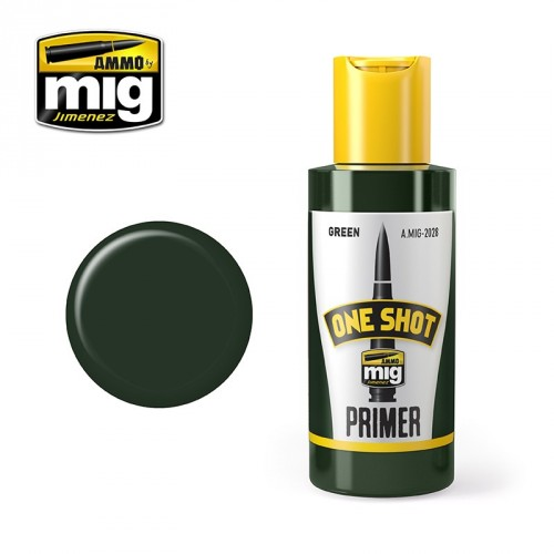 ONE SHOT PRIMER - VERDE 60ML.