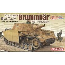 Sd.Kfz.166 Stu.Pz.IV 'BRUMMBÄR' MID-PRODUCTION (2 IN 1)