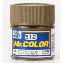 "Mr. Color - Russian Green ""4BO"" 1947"
