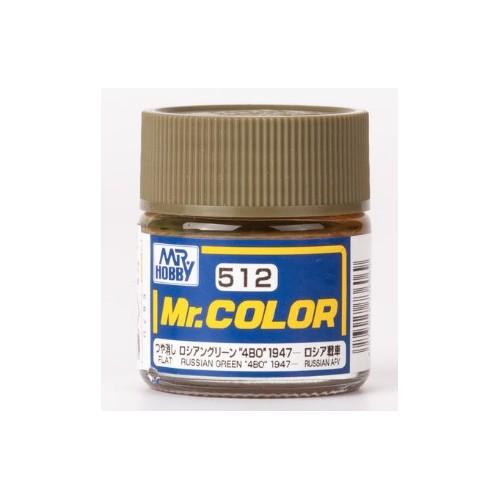 """Mr. Color - Russian Green """"4BO"""" 1947"""