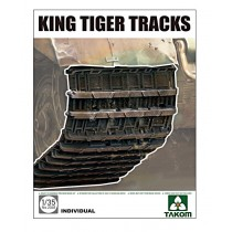 Pz.Kpfw.VI King Tiger Tracks (designed to be used with Takom kits) 1/35