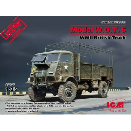 Model W.O.T. 6 WWII British Truck (100% new molds) 1/35