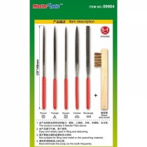 Assorted Needle File Set - φ3x140mm