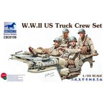 WWII U.S. Truck Crew Set 1/35