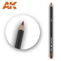 Watercolor Pencil Dark Rust