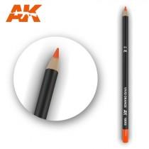 Watercolor Pencil Vivid Orange
