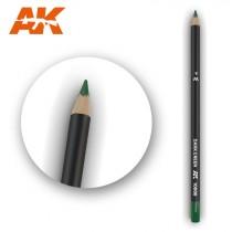 Watercolor Pencil Dark Green
