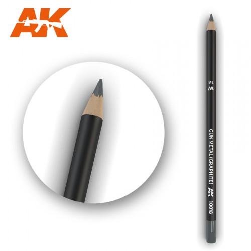 Watercolor Pencil Gun Metal (Graphite)
