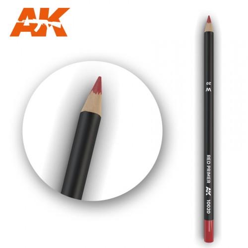 Watercolor Pencil Red Primer