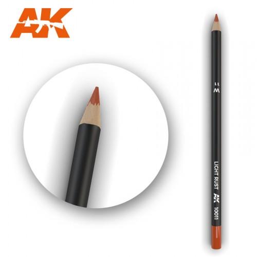 Watercolor Pencil Light Rust