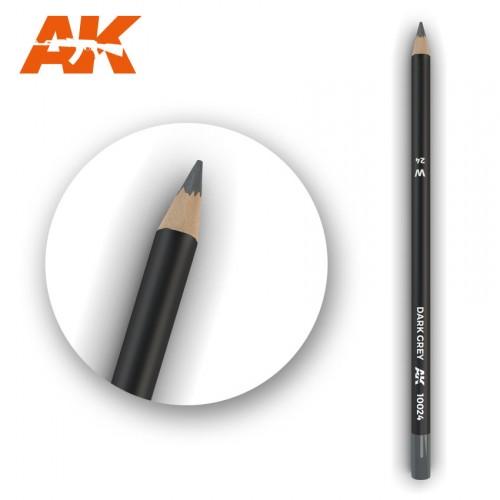 Watercolor Pencil Dark Grey