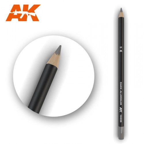 Watercolor Pencil Dark Aluminum Nickel