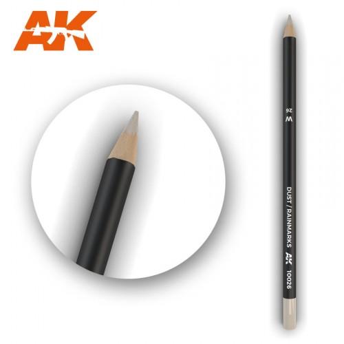 Watercolor Pencil Dust-Rainmarks