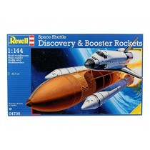 Space Shuttle Discovery and Booster Rockets 1/144