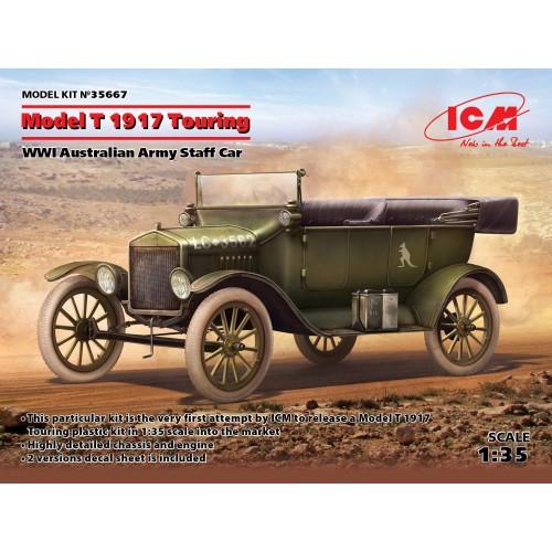 Model T 1917 Touring, WWI Australian Army Staff Car