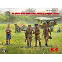 Polikarpov U-2/Po-2VS with Soviet Pilots & GP (1943-1945) 1/48