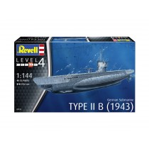 Type IIB (1943) German Submarine  1/144