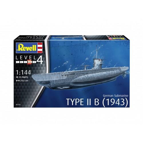 Type IIB (1943) German Submarine