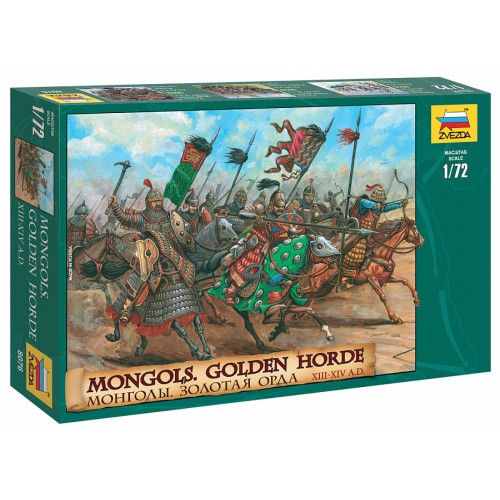 Mongols Golden Horde XIII-XIV A.D. 1/72
